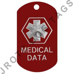 Medical Data ID Dog Tag (B1G1 Free)